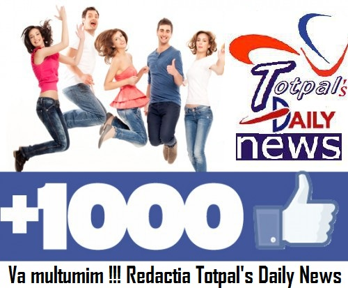 Am primit 1000 de LIKE-uri!