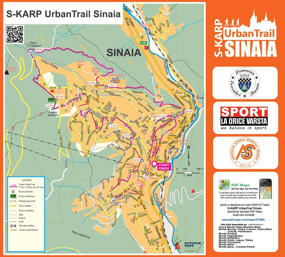 harta Skarp Urban trail